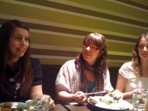 Lunch med WP Girls